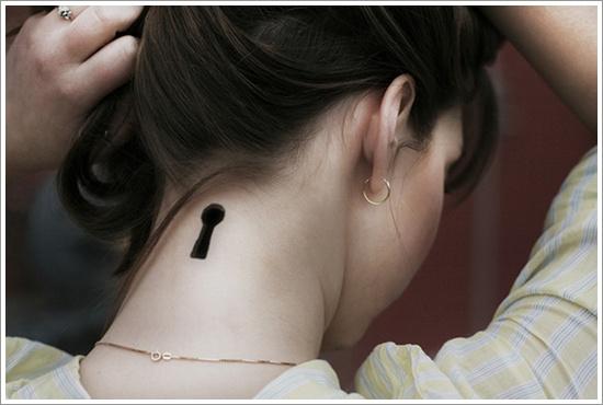 conception de tatouage de serrure (23)