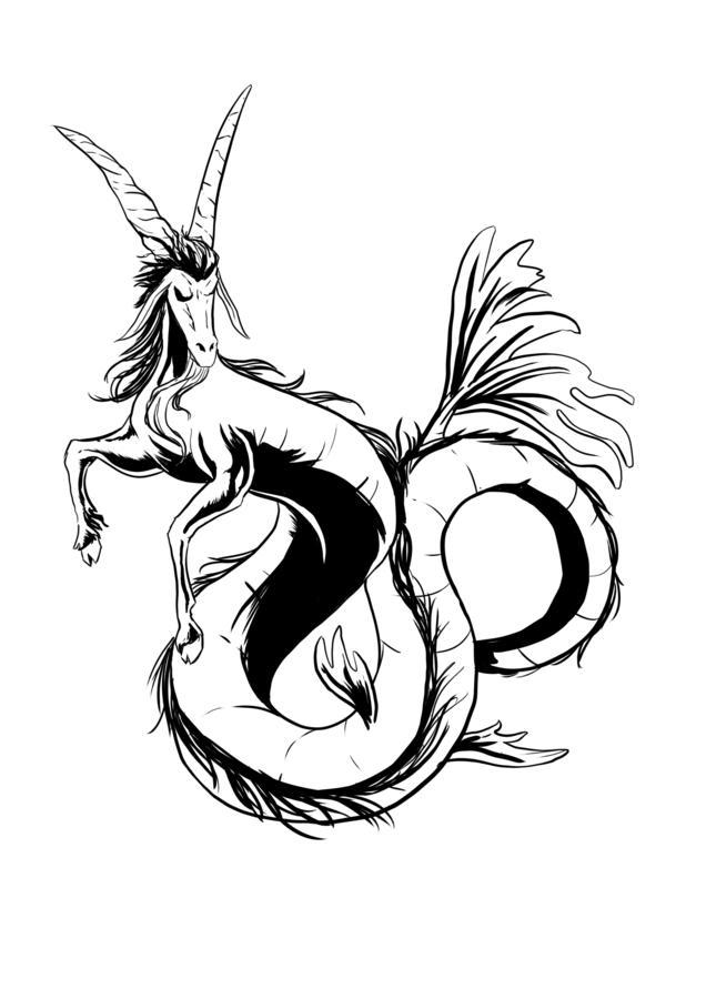 belle-conception-de-tatouage-capricorne