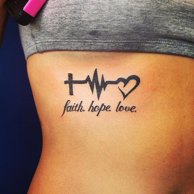 Tatouage De Battement De Coeur