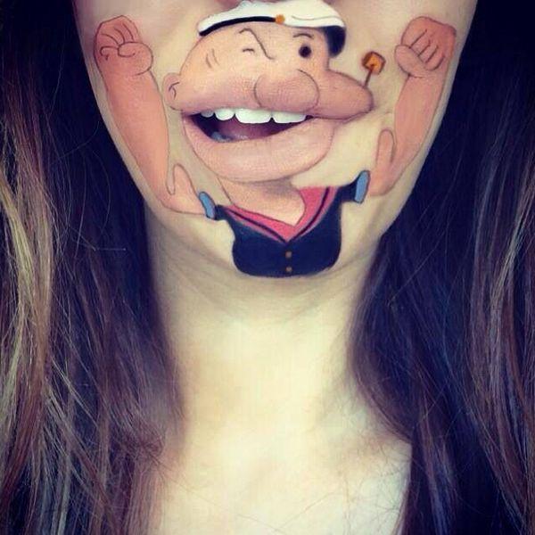 tatouage des lèvres