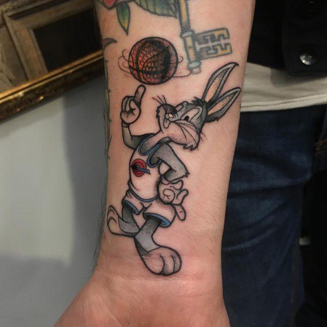 Tatouage De Basketball