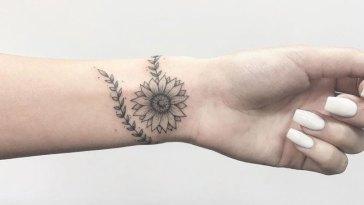 , 101 meilleures idées et conceptions de tatouage de tournesol (Guide 2020)
