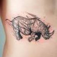 Signification de tatouage de rhinocéros 7