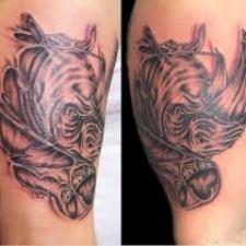 Signification de tatouage de rhinocéros 16