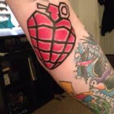 Signification de tatouage de grenade 6