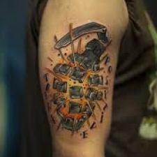 Signification de tatouage de grenade 8