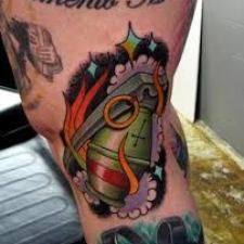 Signification de tatouage de grenade 12