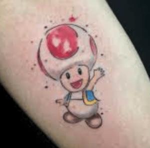 , Tattoo Toad – pour les amoureux de SUperMario  (En images)