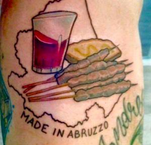Tatouage des Abruzzes