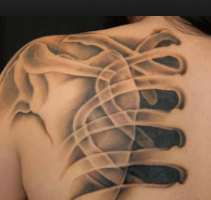 tatouage aux rayons x