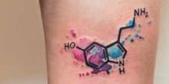 tatouages de chimie