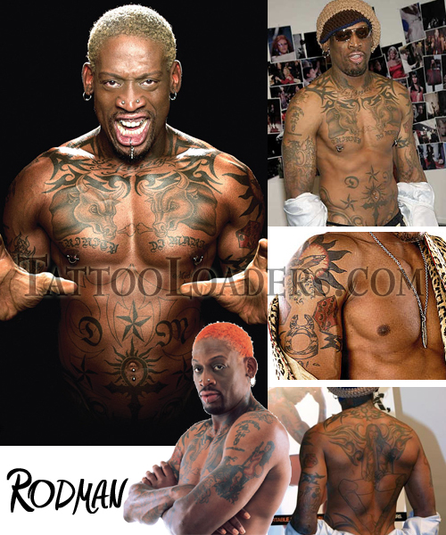 Dennis Rodman has plenty of tattoos that people both love and hate on him.