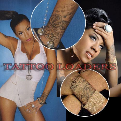 Rose Tattoo On Keyshia Cole. Keyshia Cole has a rose on her wrist that was