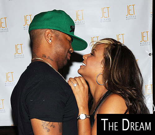 The Dream Neck and Back Tattoos The Dream is a singer and writer and has a