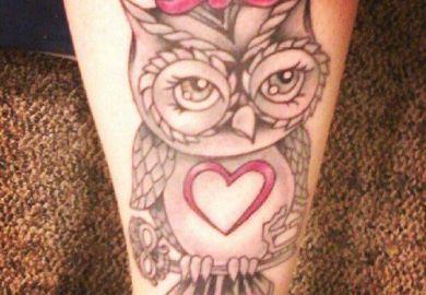 Cute Owl Tattoos For Girls Myideasbedroom