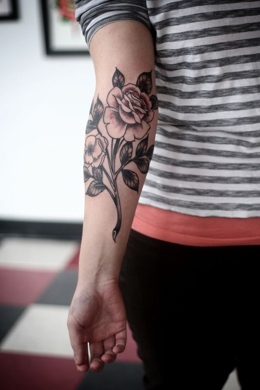 Arm Rose Tattoos For Women Small Best Tattoo Ideas
