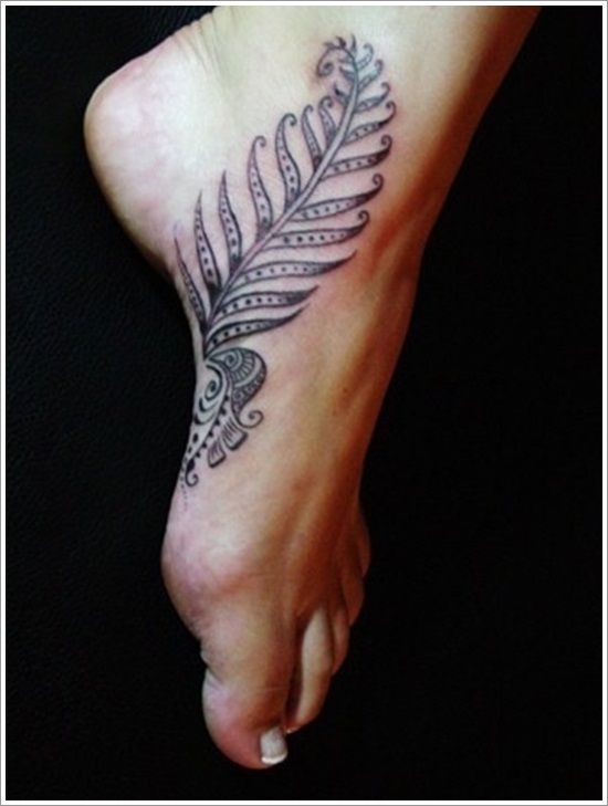 Chicken Foot Tattoo
