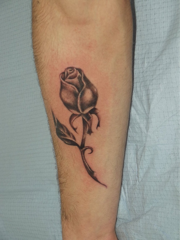 Forearm Tattoos For Girls Roses