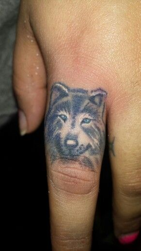 White Wolf Tattoo Designs