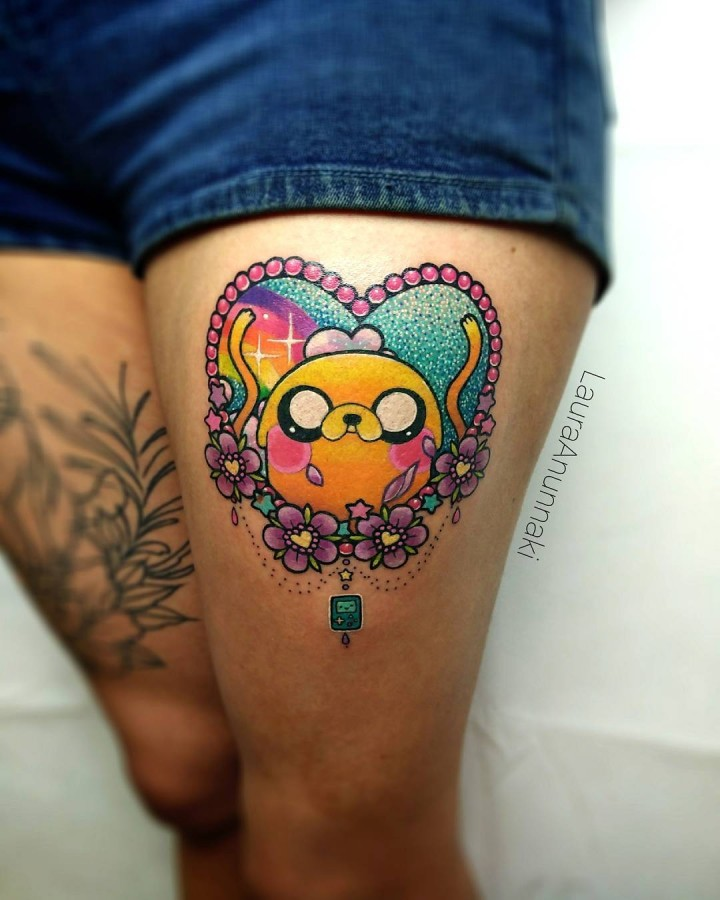 A Girl S Dream Come True Kawaii Tattoos Page 2 Of 2