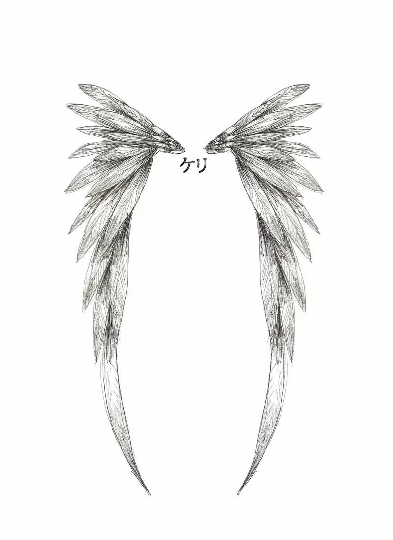 El Pichichi Angel Wings Artwork