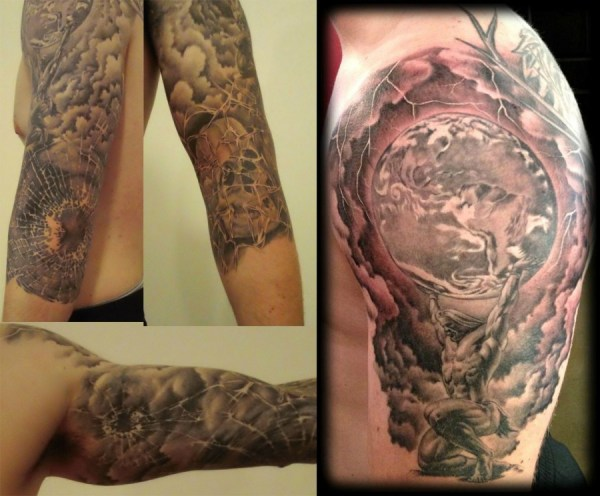 20 Mythical Sleeve Tattoos Ideas And Designs
