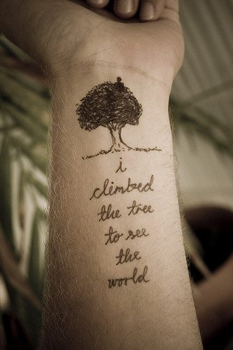 Philosophy Tree Life Quotes Tattoos