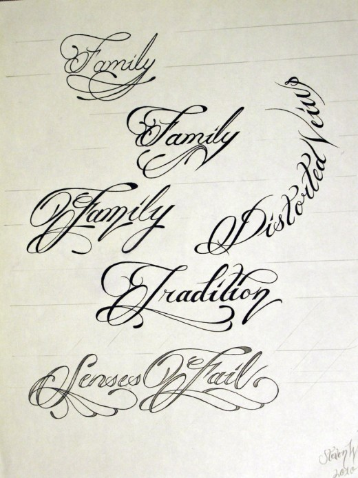 Best Handwriting Fonts For Tattoos