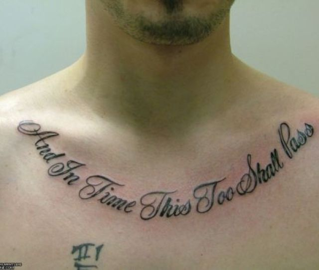 Best Tattoo Quotes For Man