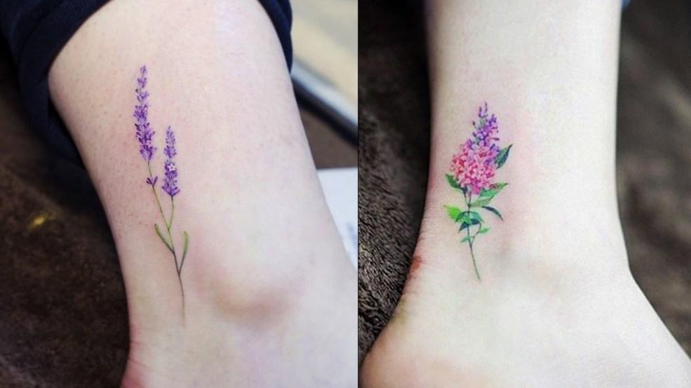 маленькие татуировки для девушек Tattoo Mall