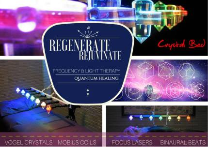 Root Essensuals | Experience the healing of a Crystal Bed!