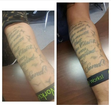 It Works! All natural health and wellness products, body wraps, and tattoo defining gel.