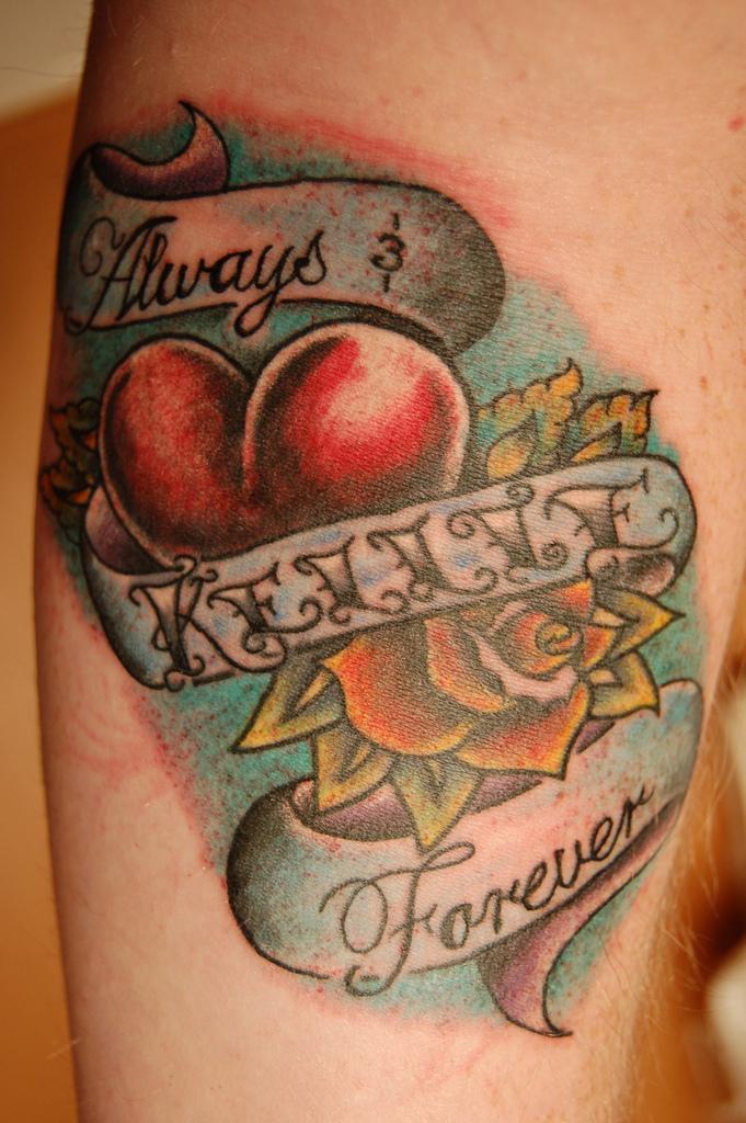 Wifes Name Tattoos : wifes, tattoos, Magazine, Tatoo:, Complete, Tattoo, Design