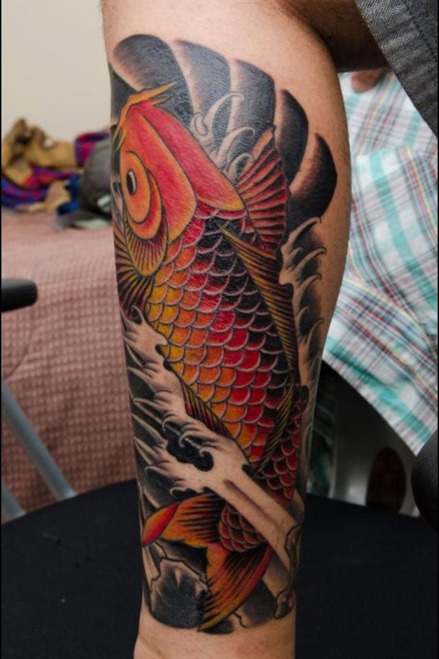 Koi Leg Tattoo : tattoo, Tattoos, Tattoo, Designs,, Ideas, Their, Meaning