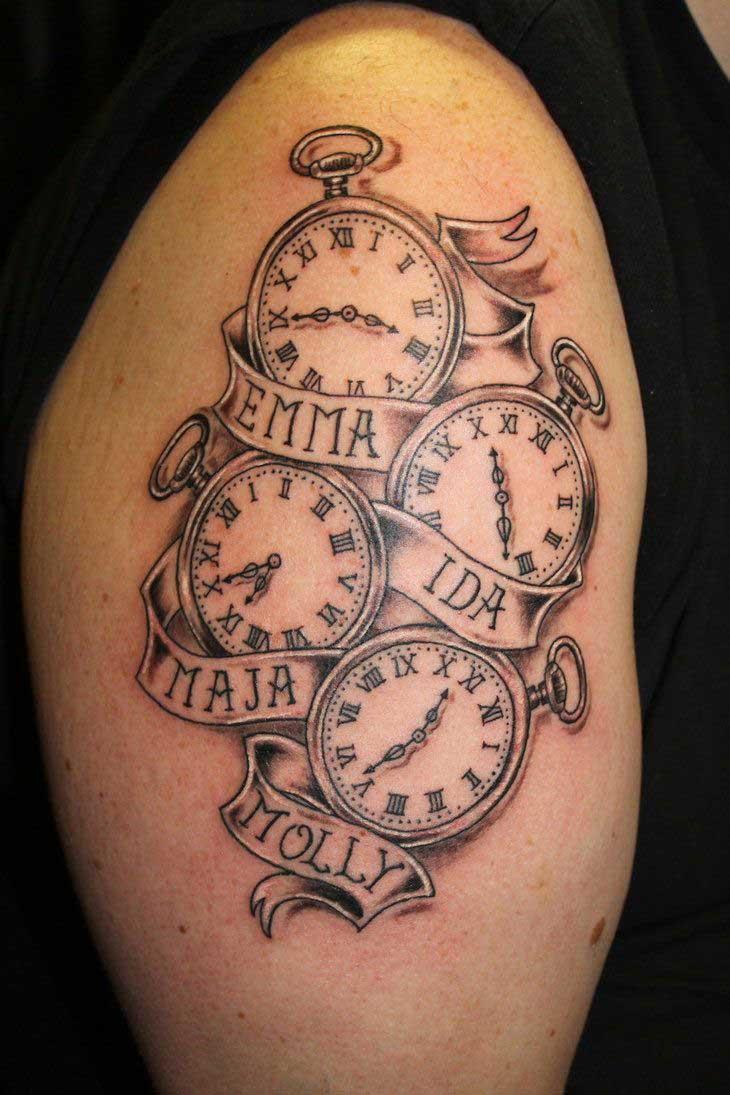 Kid Name Tattoos : tattoos, Beautiful, Tattoos, Designs, Ideas, Tattoo