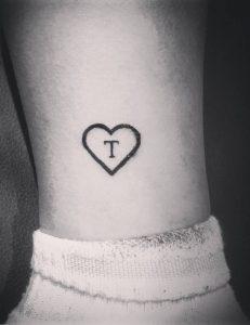 Heart Tattoo With Initials : heart, tattoo, initials, Letter, Tattoo, Designs,, Ideas, Templates