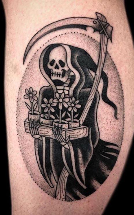 Female Grim Reaper Tattoos : female, reaper, tattoos, Unique, Reaper, Tattoos, You'll, Tattoo