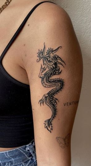 Dragon Tattoos Girls : dragon, tattoos, girls, Dragon, Tattoo, Designs, Tattoos, Ideas, Women