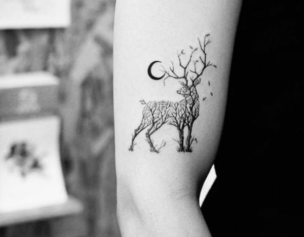 20 Hirsch Tattoo Ideen  Bilder und Bedeutung