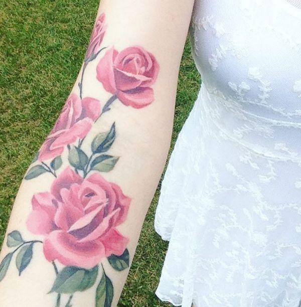 Tattoo Vorlagen Frauen Rosen Tattoos Ideas