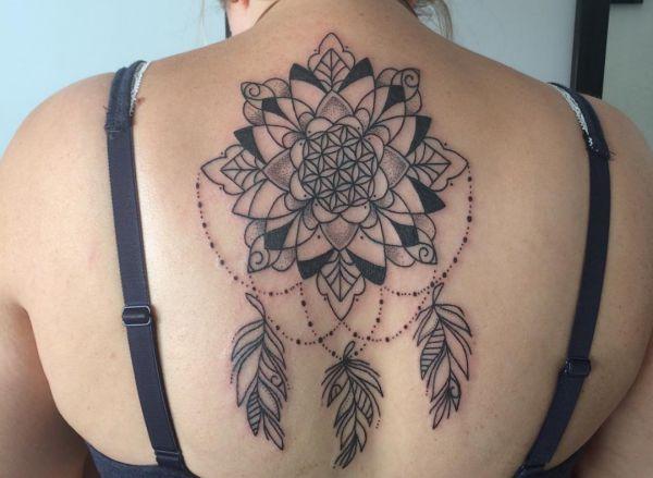 Traumfnger Tattoo  Seine Bedeutung und 22 Ideen