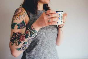 an image of a watercolor tattoo