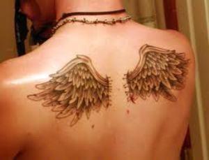 Back Tattoos For Men Wings Tribal