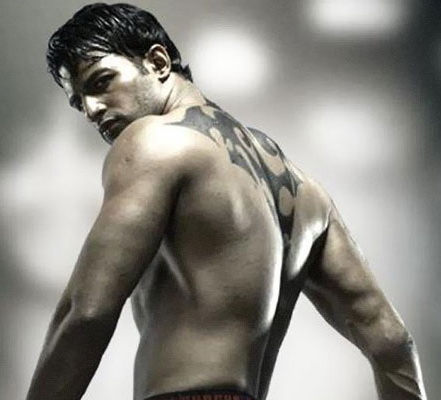 Small Tattoos For Mens Back