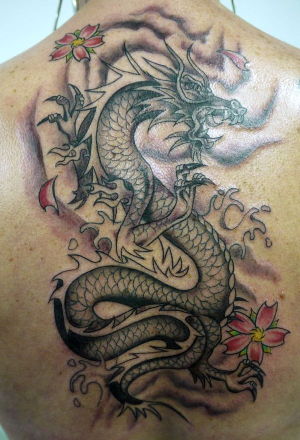 types of dragon tattoo ideas meaning