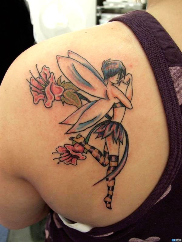 Fairy Tattoo Design Ideas & With Meanings