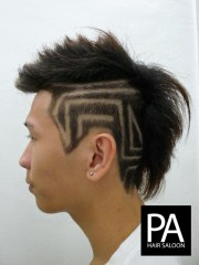 hair tattoo design