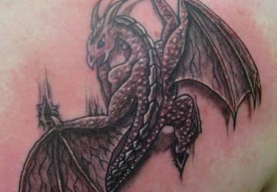 Dragon Tattoo Designs For Shoulder