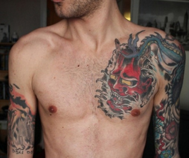 Chest Tattoos For Men Small