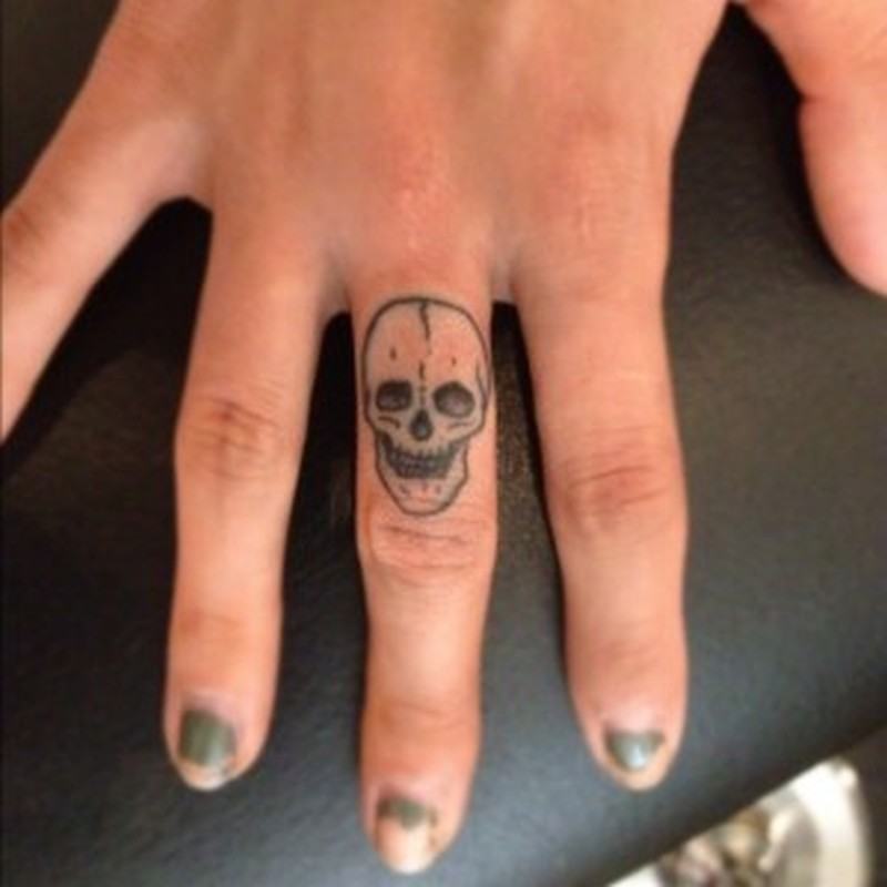 Small Skull Tattoo Ideas